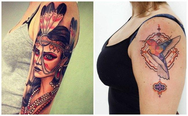 Tatuajes de indios nativos