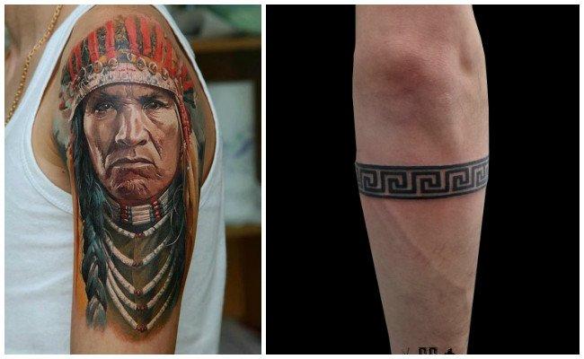 Tatuajes de indios sioux