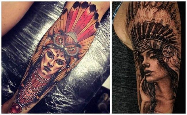 Tatuajes de indios