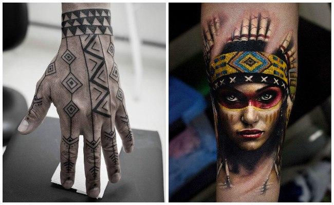 Tatuajes de jefes indios