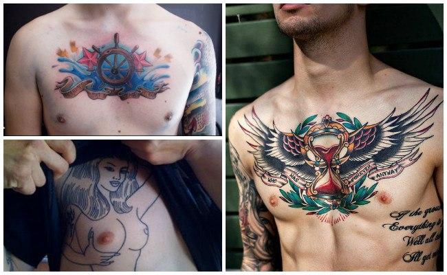 Tatuajes de Jesucristo en el pecho