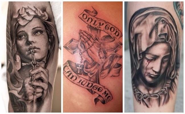 Tatuajes de Jesús crucificado