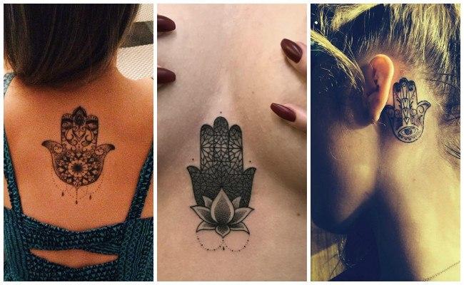 Tatuajes de la mano de fátima y su significado