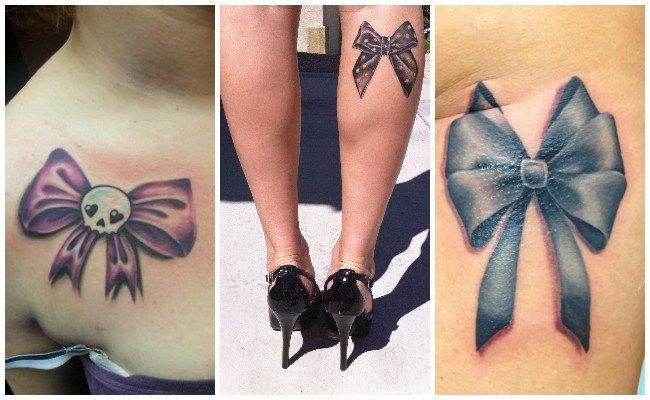 Tatuajes De Lazos Significados Diseños Y Lugares Para Hacerlo