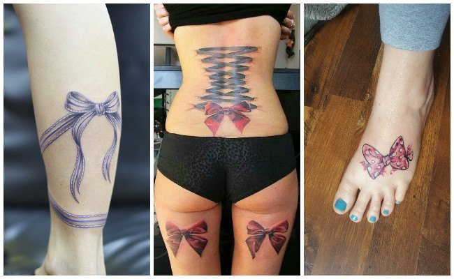 Tatuajes de lazos en la mano