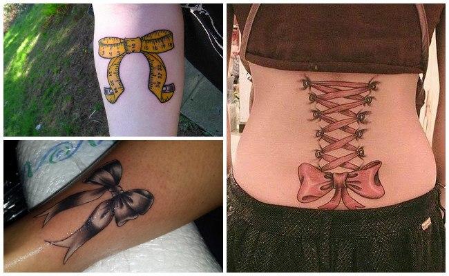 Tatuajes de lazos de mujeres