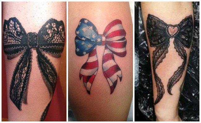 Tatuajes de lazos en la muñeca