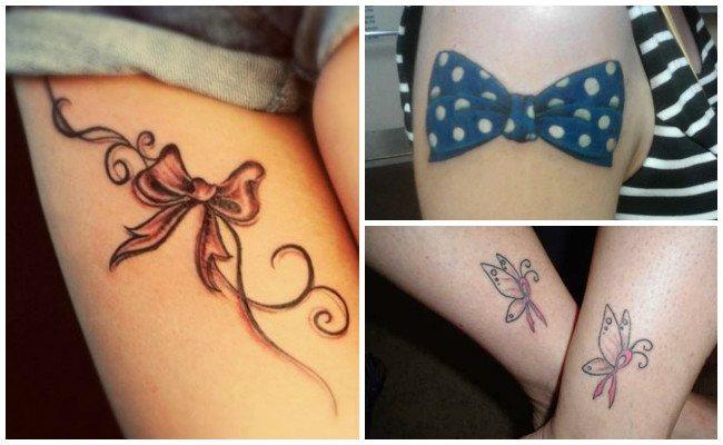 Tatuajes de lazos pin up