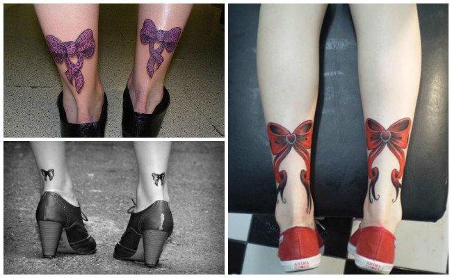 Tatuajes de lazos y ligas