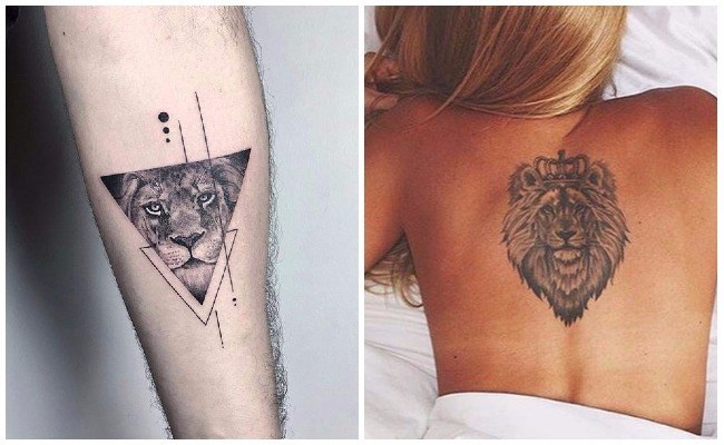 Tatuajes de leones para mujeres