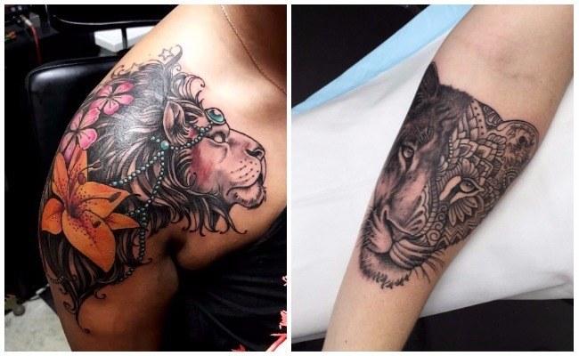 Tatuajes de leones y su significado