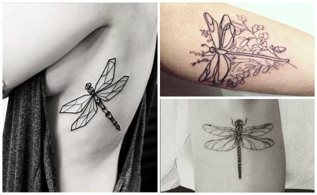 Tatuajes de libélulas y significado