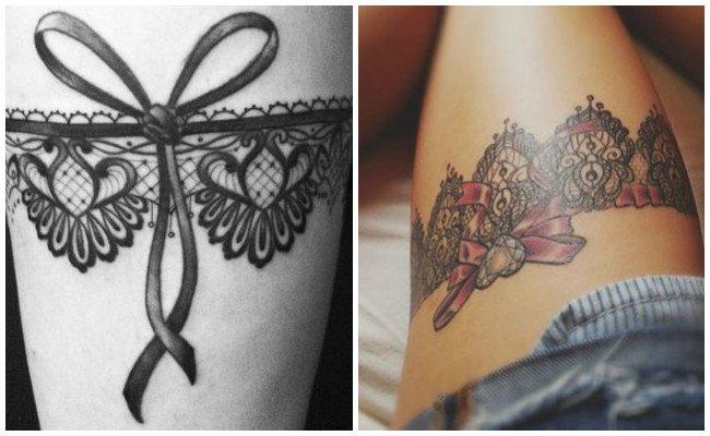 Tatuajes de ligueros en 3d