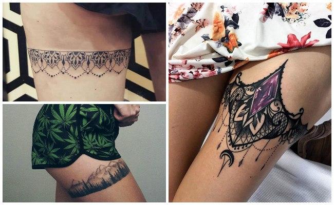 Tatuajes de ligueros atrapasueños