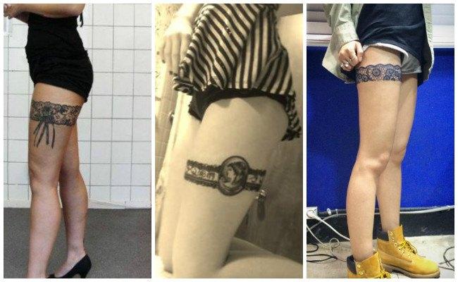 Tatuajes de ligueros con fotos