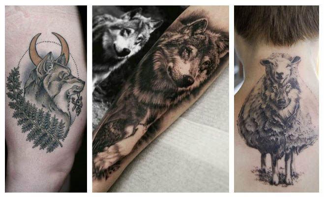 Tatuajes de lobos de cuerpo entero
