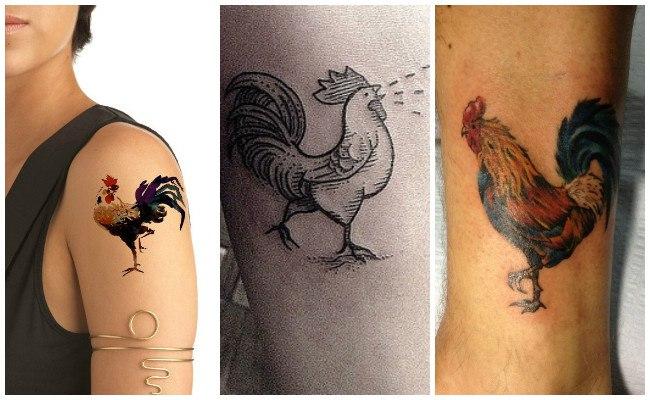 Tatuajes de los gallos