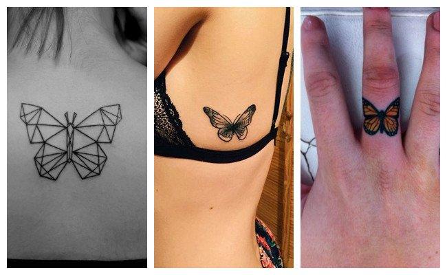 Tatuajes de mariposas mandalas