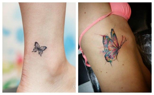 Tatuajes de mariposas y su significado