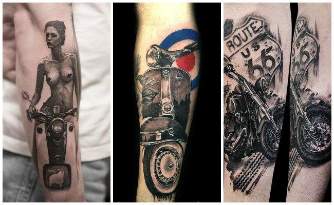 Tatuajes de motocross