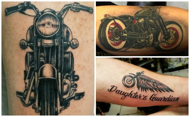 Tatuajes de motos cross