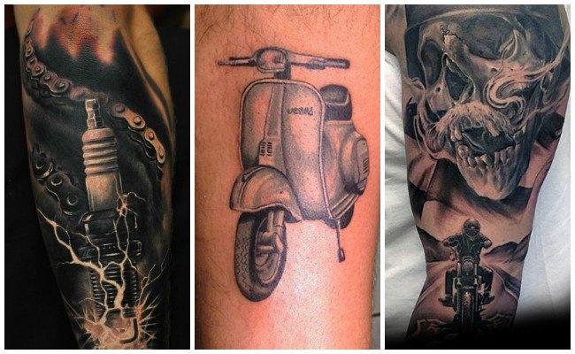 Tatuajes de motos deportivas