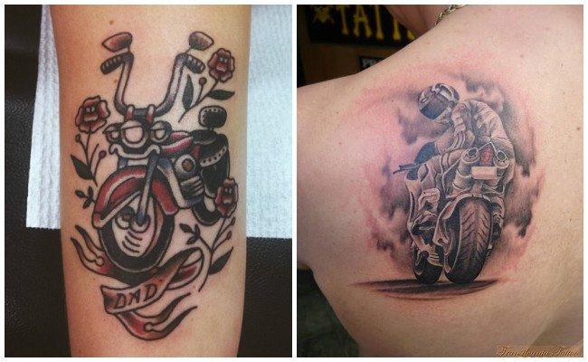 Tatuajes de motos para hombres