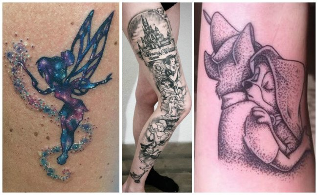 Tatuajes de mujeres disney