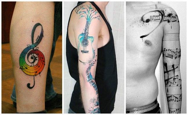 Tatuajes de musicales