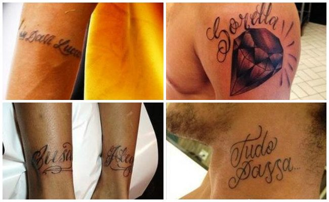 Tatuajes de neymar en el brazo