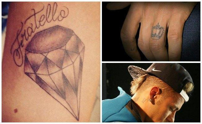 Tatuajes de neymar en el pecho