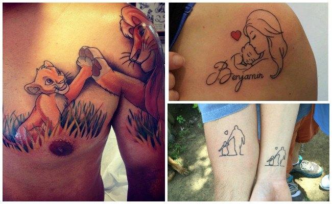 Tatuajes de nombres de hijos varones