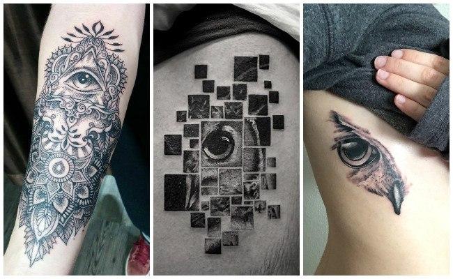 Tatuajes de ojos en 3d