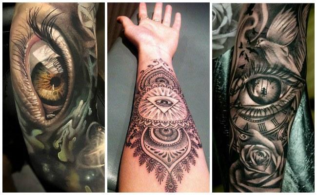 Tatuajes de ojos de horus