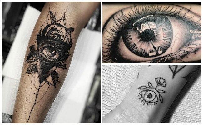 Tatuajes de ojos de lobo