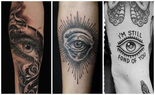 Tatuajes de ojos de pantera