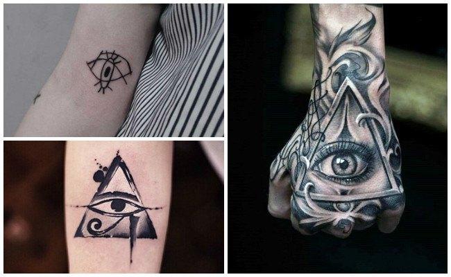 Tatuajes de ojos en el cuerpo