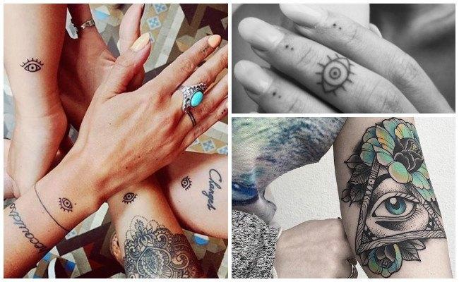 Tatuajes de ojos llorando