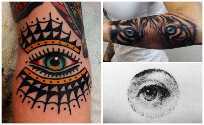 Tatuajes de ojos para hombres
