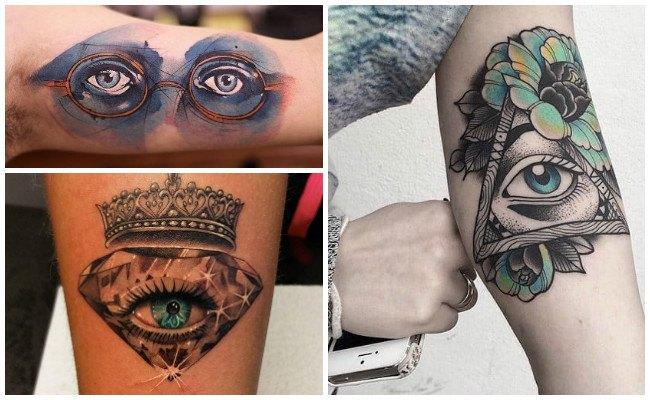 Tatuajes de ojos saliendo