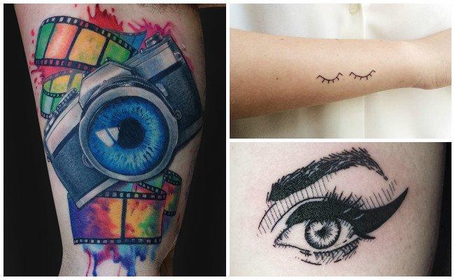 Tatuajes de ojos tristes