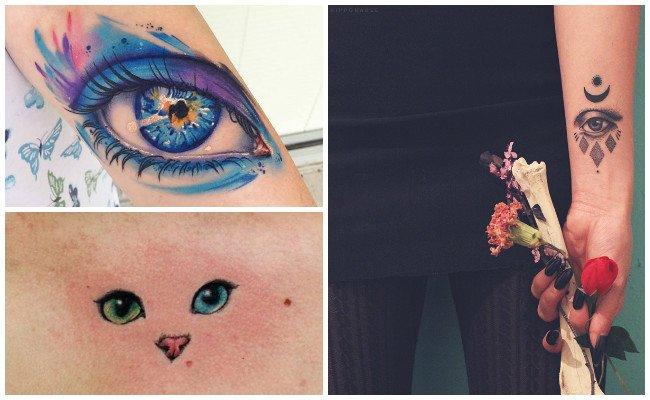 Tatuajes de ojos turcos