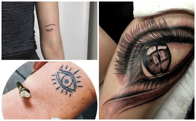 Tatuajes de ojos verdes