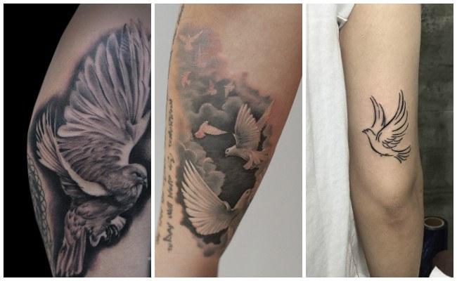 Tatuajes de palomas y significado