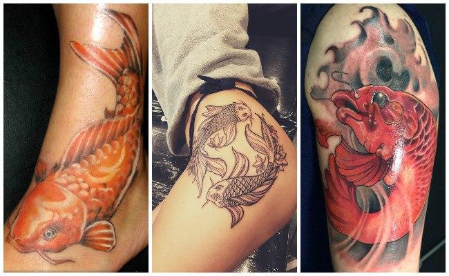Tatuajes de peces del infierno