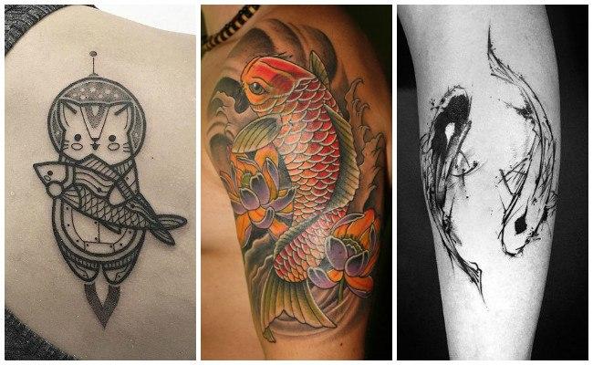 Pez koi tatuaje amazing pez koi tatuaje with pez koi for Significado de pez koi