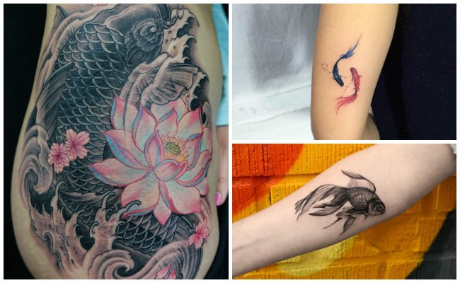 Tatuajes de peces para mujeres