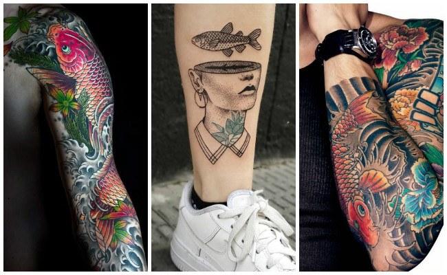 Tatuajes de peces para parejas