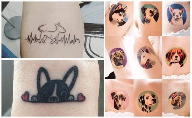 Tatuajes de perros boxer