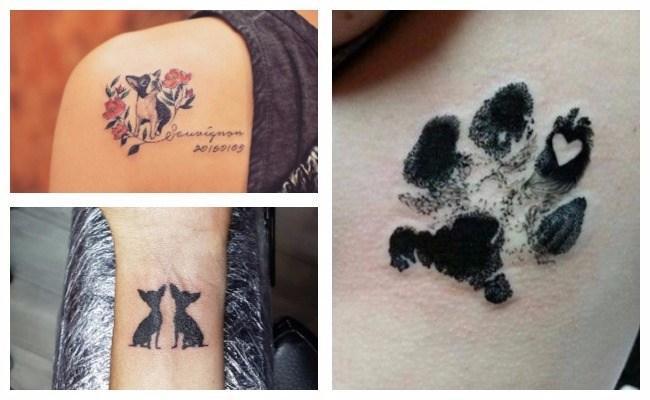Tatuajes de perros bulldog